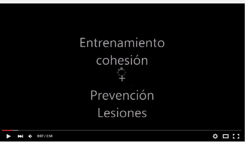 Entrenamiento de cohesión y prevención de lesiones