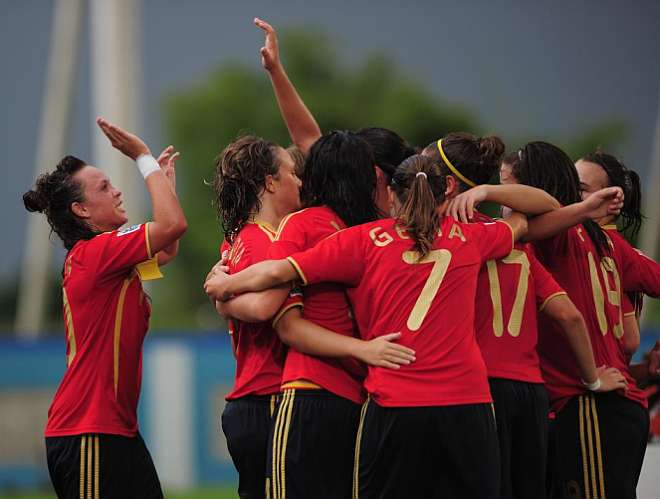 Fútbol femenino en España