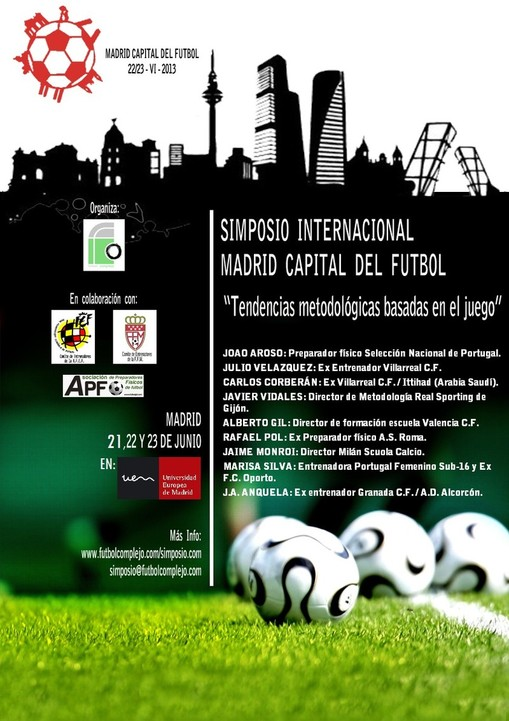 SIMPOSIO INTERNACIONAL MADRID CAPITAL DEL FUTBOL 2013