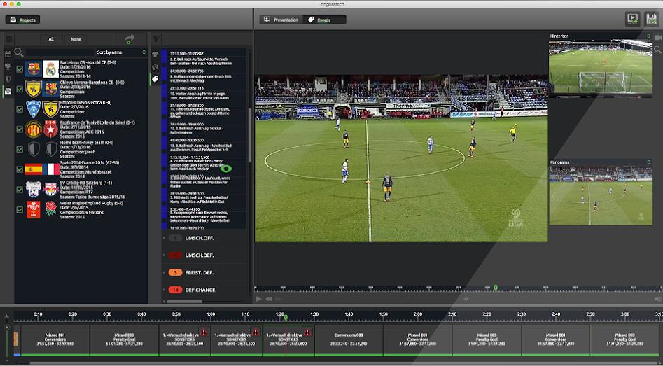 LongoMatch PRO: vídeo análisis deportivo para perfeccionar los entrenamientos de fútbol