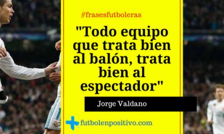 Frase futbolera 4: Jorge Valdano
