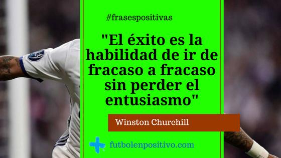 Frase Positiva Winston Churchill