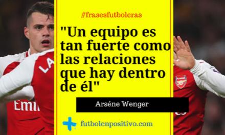 Frase futbolera 3: Arséne Wenger