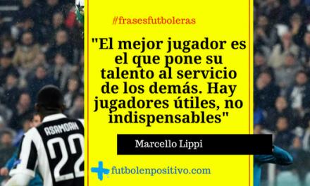 Frase futbolera 2: Marcello Lippi