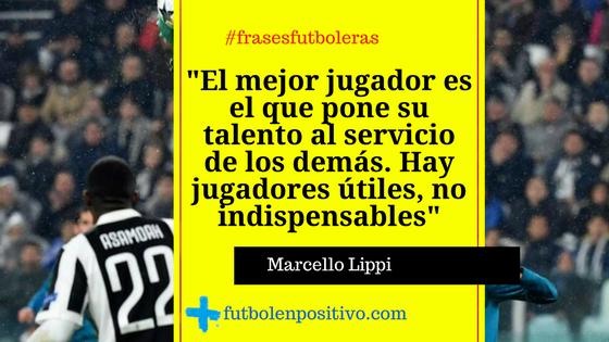 frase futbolera Marcelo Lippi
