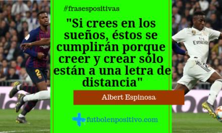 Frase positiva 12: Albert Espinosa