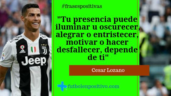 Frase Positiva 14 Cesar Lozano Fútbol En Positivo