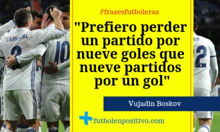Frase futbolera 12: Boskov