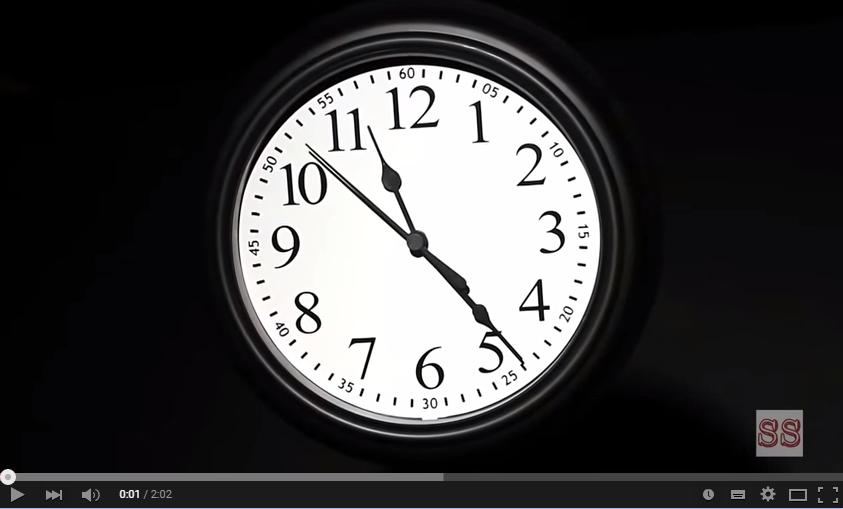 Vídeo de motivación 26: 86.400 segundos para cambiar tu vida