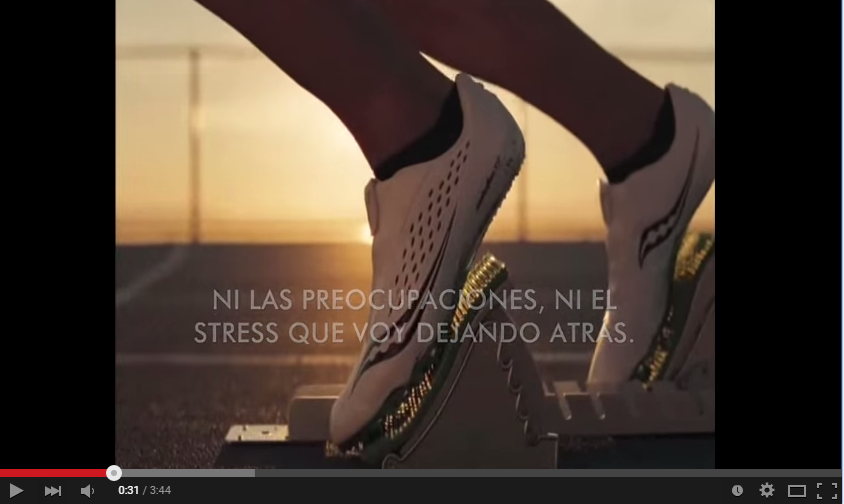 "Vídeo de motivación 35: ""Yo corro, yo vuelo"""