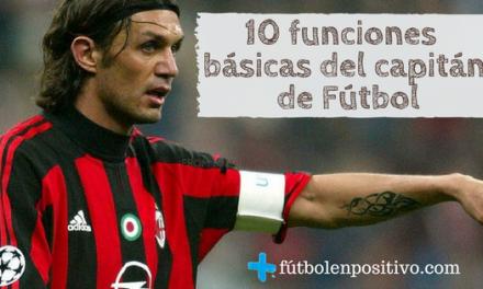 Las 10 funciones básicas del capitán de Fútbol