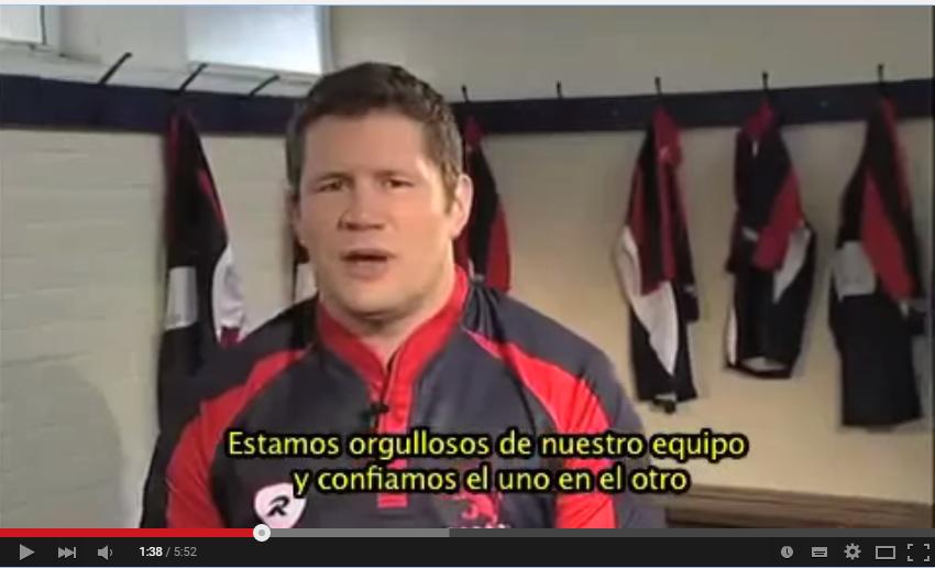 """Vídeo de motivación 34: """"Los cinco valores del Rugby"""""""