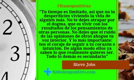 Frase positiva 38: Steve Jobs