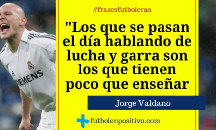 Frase futbolera 25: Jorge Valdano