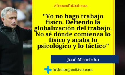 Frase futbolera 27: José Mourinho