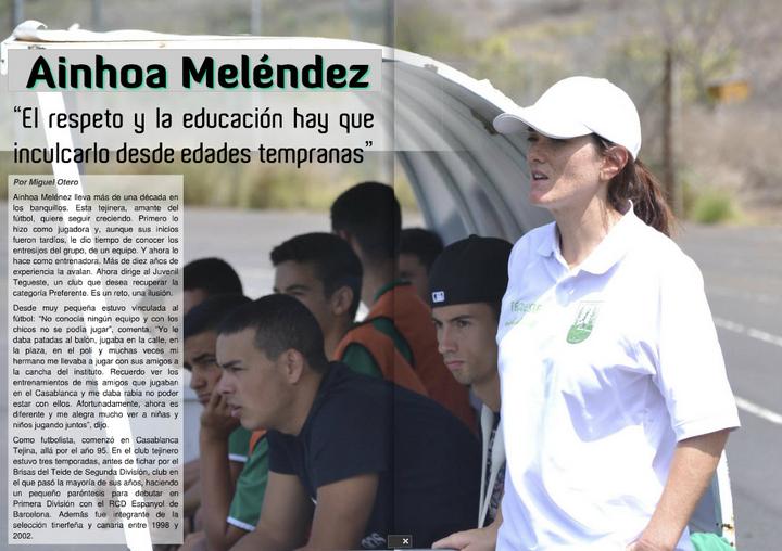 Entrevista a Ainhoa Meléndez