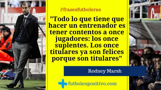 Frase futbolera 34: Rodney Marsh