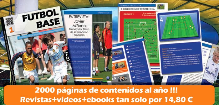 Nace FÚTBOL BASE, la revista para el entrenador de la cantera