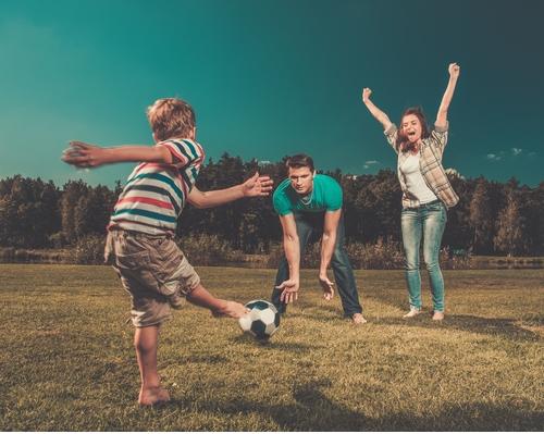 Como motivar a nuestros hijos para que practiquen fútbol