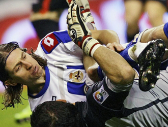 Filipe e Iraizoz: una amistad nacida de una lesión