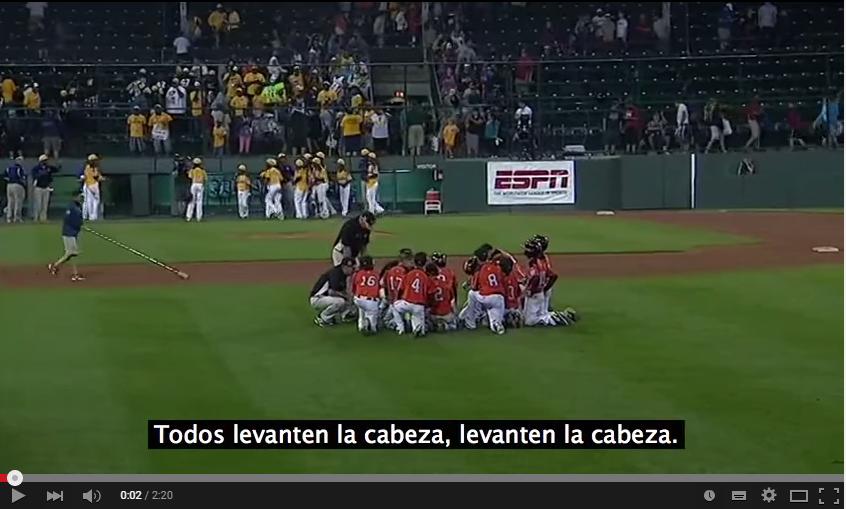 Vídeo de motivación 66: Charla de un entrenador de Béisbol después de una derrota