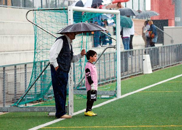 Padres y fútbol