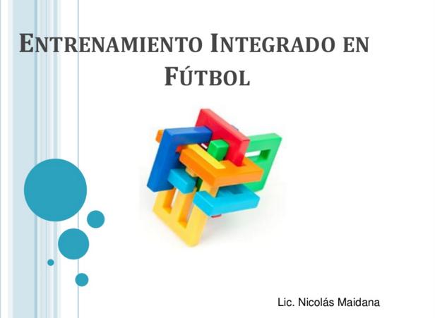 Entrenamiento integrado fútbol