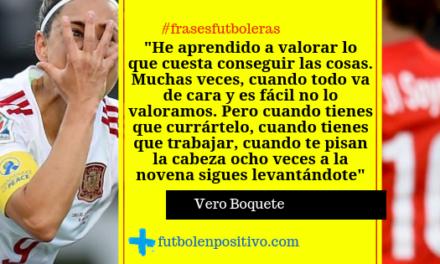 Frase futbolera 47: Vero Boquete