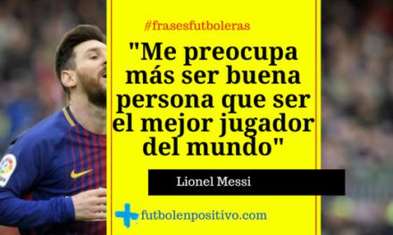 Frase futbolera 49: Lionel Messi