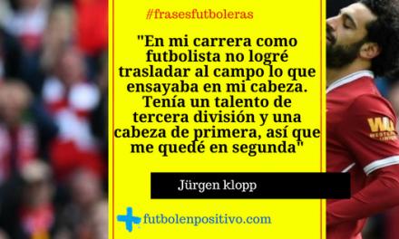 Frase futbolera 50: Jürgen Klopp