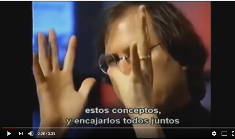Vídeo de motivación 74: Metáfora de Steve Jobs y metáfora del equipo de trabajo