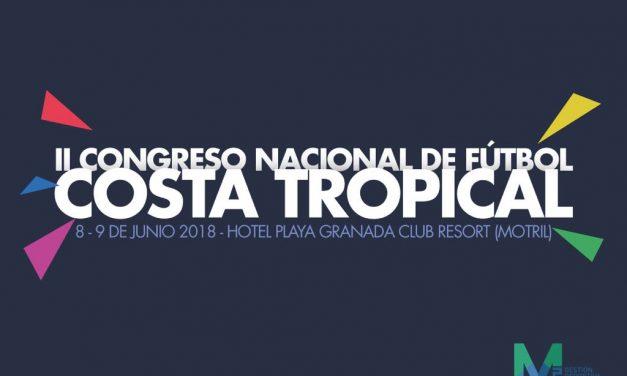 II Congreso Nacional de Fútbol Costa Tropical – 8 y 9 de Junio en Motril (Granada)