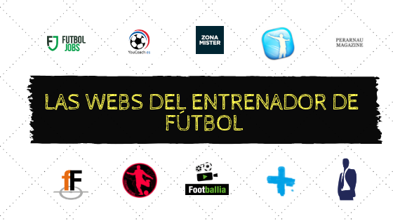 Las webs del entrenador de fútbol