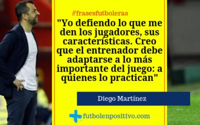 Frase futbolera 54: Diego Martínez