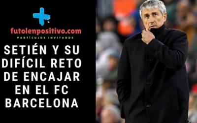 Setién y su difícil reto de encajar en el FC Barcelona
