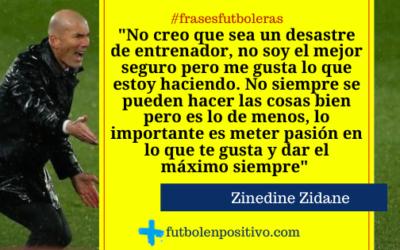Frase futbolera 55: Zinedine Zidane
